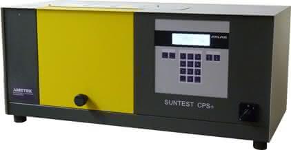 Material- und Werkstoffprüfung: Lichtsimulation: Bewitterungsprüfgerät SUNTEST CPS+