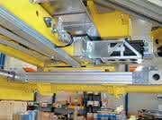 Lineartechnik: Blech-Handling: Lineartechnik für Transformatorkern-Blechteile