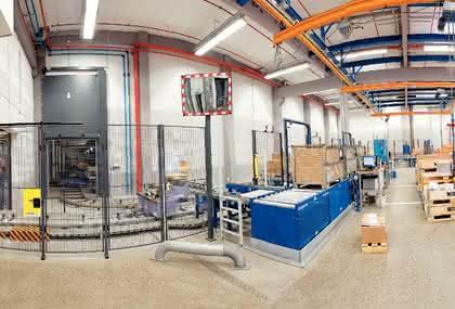 Lagertechnik: Getriebebauer gibt Gas