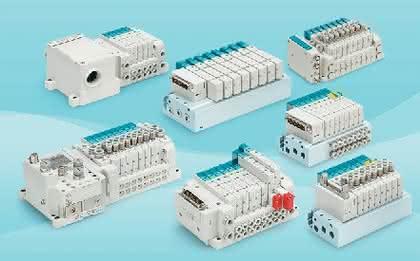 Elektromagnetventile new SY3000/5000: Elektromagnetventile: Konstruktions-Freiheit