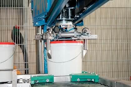 Industrieroboter: Alles für Eimer