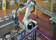 3D-Greifsystem: 3D-Sensor Parallelgreifer: Gelenkter Griff zum Steuer