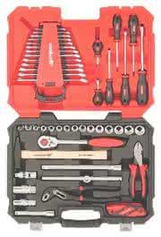 Werkzeugkoffer: Solide bestückt