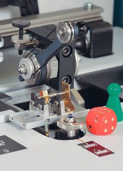 Auswuchtmaschinen: Minis wuchten
