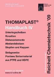 Handbuch THOMAPLAST-IV: Distanz- und Schutzelemente