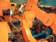 Handling- und Schweißroboter: Mechatronik  im Einsatz