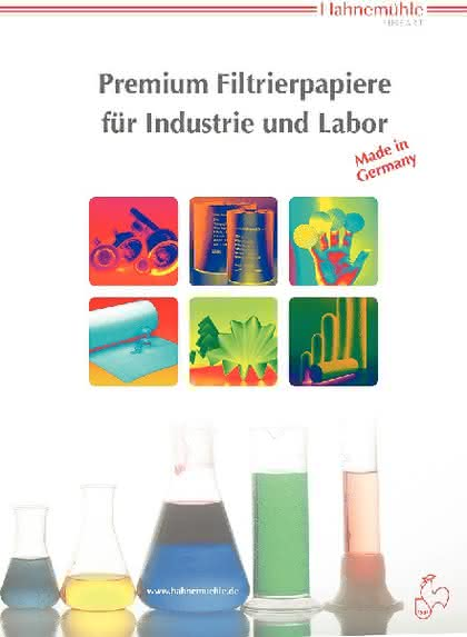 Filterpapier-Broschüre: Vielseitige Filtrierpapiere