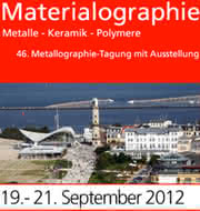 News: 46. Metallographie-Tagung