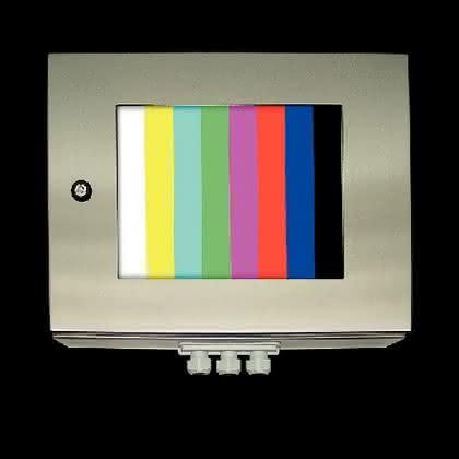 LED-TFT-Panel: Auftritt mit Testbild