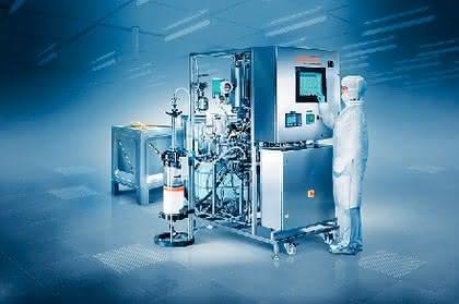 System für Prozesschromatographie EcoPrime: Chromatographische Aufreinigung von Biomolekülen