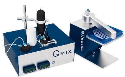 Automatisierung und Mikrosysteme: Mikrofluidische Analyseplattform
