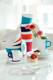 Material handling: Hoch die Tassen