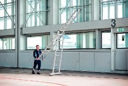 Ergonomische Leitern: Zahlt sich aus