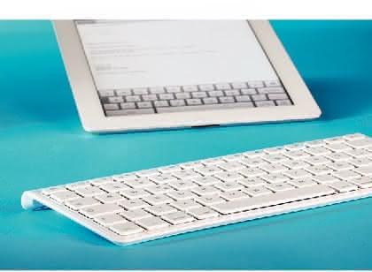 Bluetooth-Tastatur: Bessere Hälfte