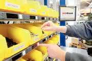 Pick-at-Work-Montageanlage: Am Pumpen-Picker