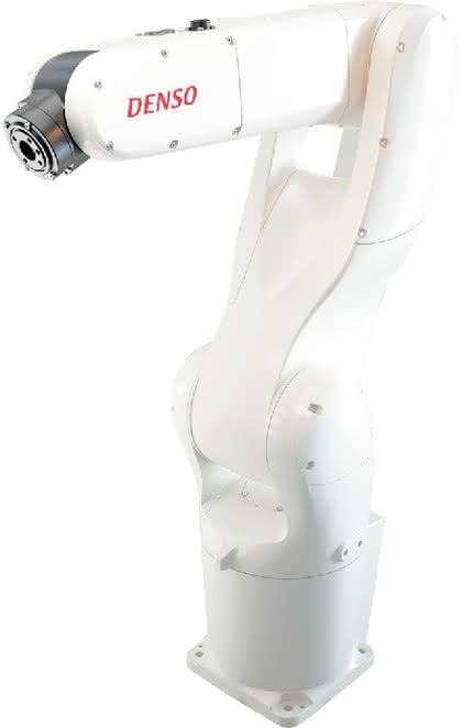 Industrieroboter: Kabel inklusive