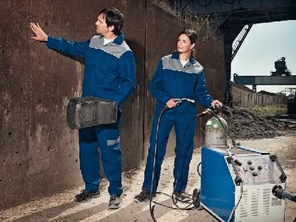 Schweißerschutzkleidung: Normgerecht