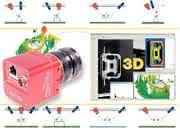 3D-Kamera: Zwei Profile