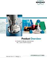 Katalog-Revue: Katalog: Bruker Optik GmbH