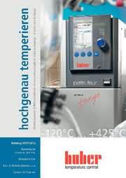 Kataloganzeige: Katalog: Peter Huber Kältemaschinenbau GmbH