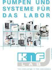 Kataloganzeige: Katalog: KNF Neuberger GmbH