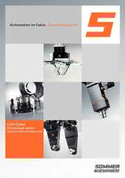 Kataloganzeige: Katalog: Sommer-automatic GmbH & Co. KG