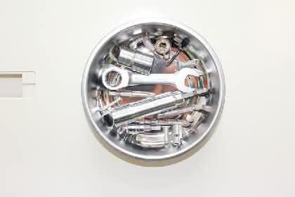 Magnetischer Werkzeugkasten: Hält den Schlüssel