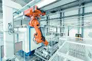 Roboterportalanlage: Effizient bedient