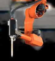 Roboter-Engspaltschweißen: Schwert-Schweißer