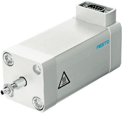Kurzhub-Elektrozylinder ADNE-LAS: Für kurze Hübe
