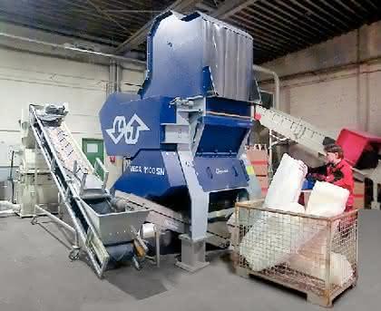 Vega-Zerkleinerer: Recycling-Effizienz steigern