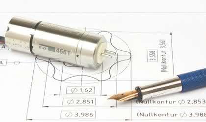 Kommutierter Gleichstrommotor: Dosierte Förderung