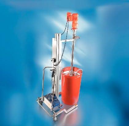 Fassentleerungssystem: Für Cremes und Tomatenmark