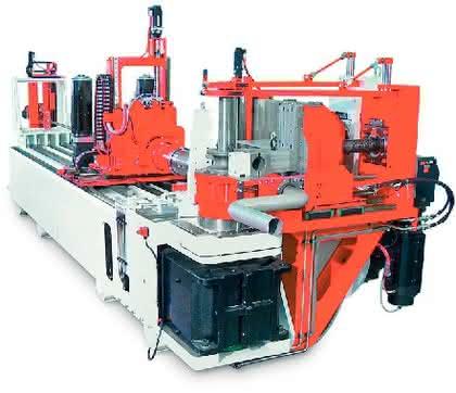 Biegemaschine: Material gespart