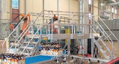 Material handling: Rascher Aufstieg