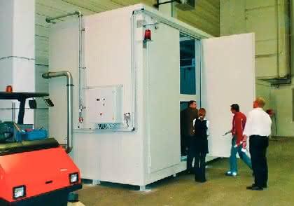 Gefahrstofflager: Inhouse-Brandschutz