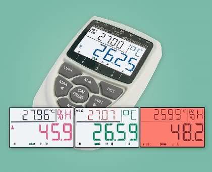 Messgeräte-Serie ALMEMO 2470: Grenzwerte überwachen, Daten loggen