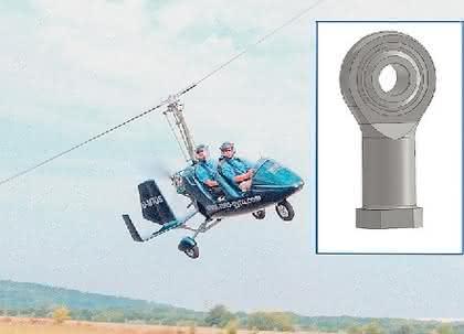 Gelenkköpfe: Gyro und Heli
