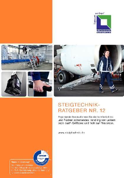 Kataloganzeige: Katalog: GÜNZBURGER STEIGTECHNIK