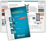 Gesamtkatalog Probenaufbereitung & Qualitätskontrolle: Neuer Gesamtkatalog  für Mühlen & Siebmaschinen