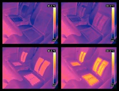 Thermografie-Kamera: Film aus Einzelbildern