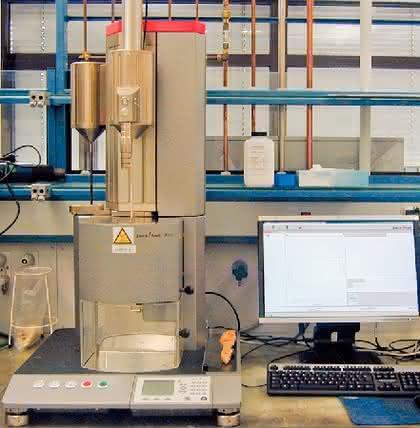Aflow: Schmelzindex im  Dauerbetrieb bestimmen