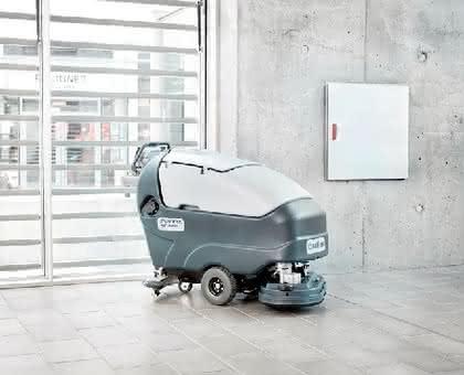 Reinigungsmaschine: Neuer Mitgänger