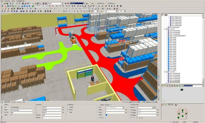 3D-Modelle vom Arbeitsplatzrechner: Logistikkonzepte ins Bild setzen