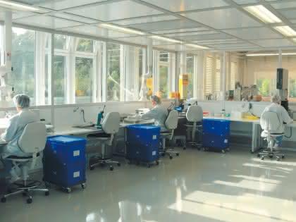 Reinraum-Kontrollsystem CR Control: Reinraumproduktion