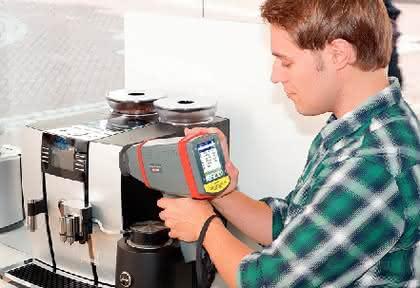Handheld-RFA-Spektrometers SPECTRO xSORT: Handheld-RFA-Spektrometer