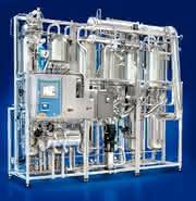 Reinstdampferzeuger und Mehrstufen-Destillationssysteme: Jetzt auch unter Dampf