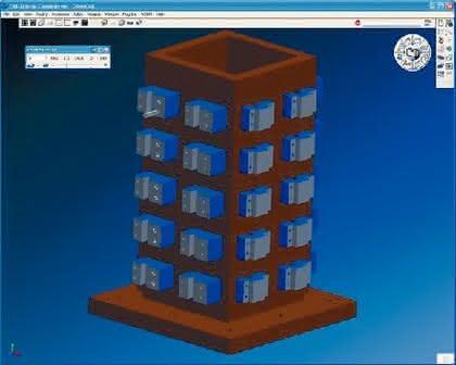 Software: Turmprogramm  ohne Spaghetti-Code