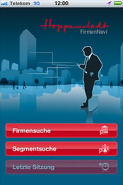 "News: Neue iPhone App ""Hoppenstedt FirmenNavi"""