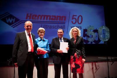 Wirtschaft + Unternehmen: Maschinenbauer Herrmann: 50-jähriges Jubiläum